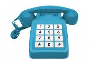 Telephone easyread