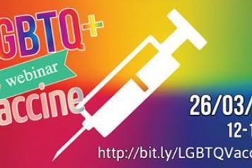 LGBTQ+ vaccine webinar
