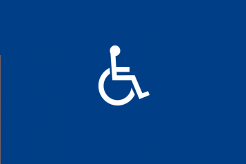 disability sign of person in a wheelchair