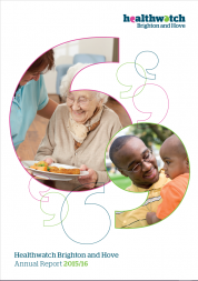 Healthwatch BH - Annual Report 2016