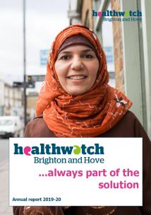 Healthwatch annual report